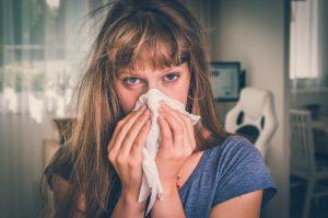 seasonal allergies causing sneezing