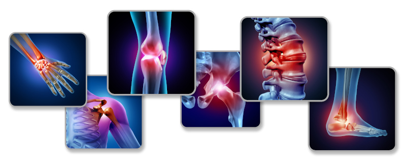 joint pain and inflammation relief. Medical concept.