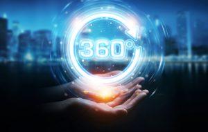 360 degree medicine management concept